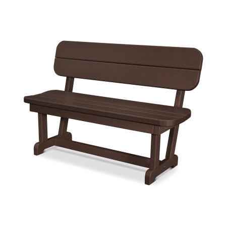 "Park 48"" Bench in Mahogany"