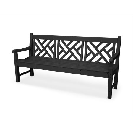"Rockford 72"" Chippendale Bench"