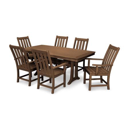 Vineyard 7-Piece Dining Set in Teak