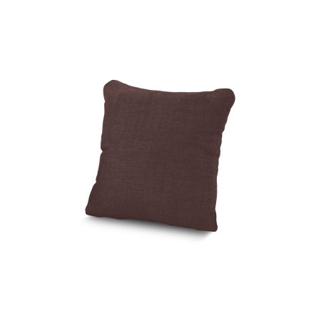 "16"" Outdoor Throw Pillow by POLYWOOD® in Cast Currant"