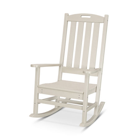 Nautical Porch Rocking Chair in Sand