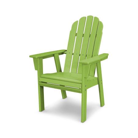 Vineyard Adirondack Dining Chair in Lime