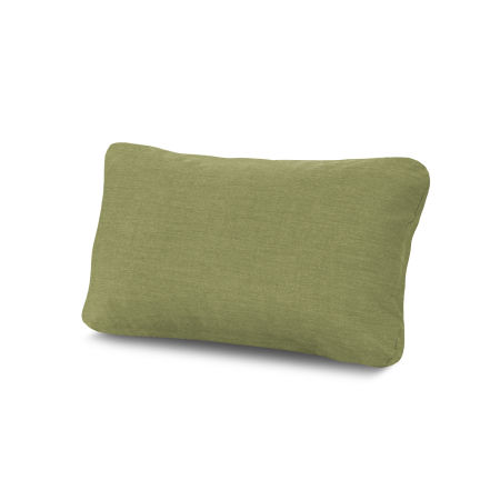 Outdoor Lumbar Pillow in Cast Moss