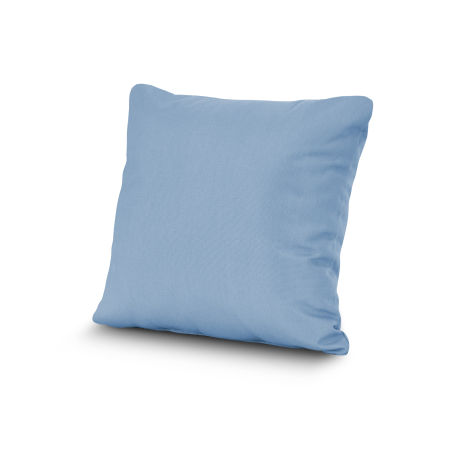 """20"""" Outdoor Throw Pillow by POLYWOOD® in Air Blue"""