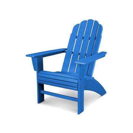 Vineyard Curveback Adirondack Chair in Vintage Pacific Blue
