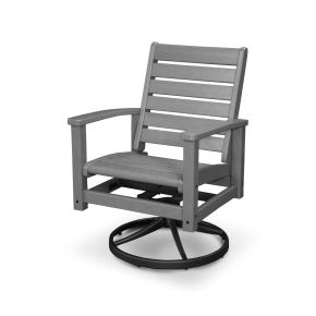 Signature Swivel Rocking Chair
