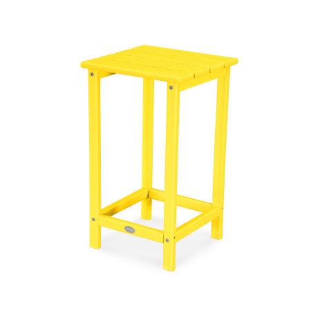 "Long Island 26"" Counter Side Table in Lemon"