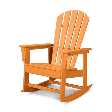 South Beach Rocking Chair in Tangerine