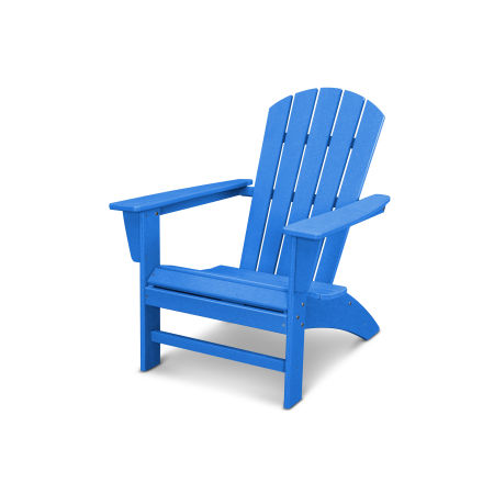 Nautical Adirondack Chair in Vintage Pacific Blue