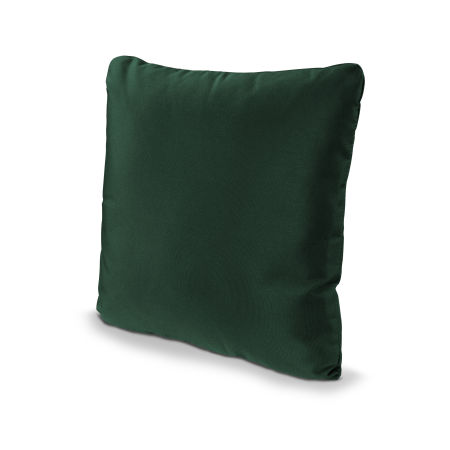 "20"" Outdoor Throw Pillow in Forest Green"