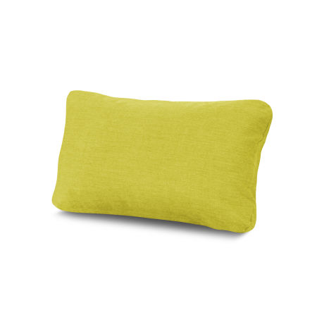 Outdoor Lumbar Pillow in Cast Citrus