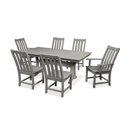 Vineyard 7-Piece Farmhouse Dining Set