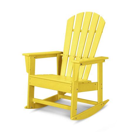 South Beach Rocking Chair in Lemon