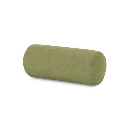 Outdoor Bolster Pillow in Cast Moss