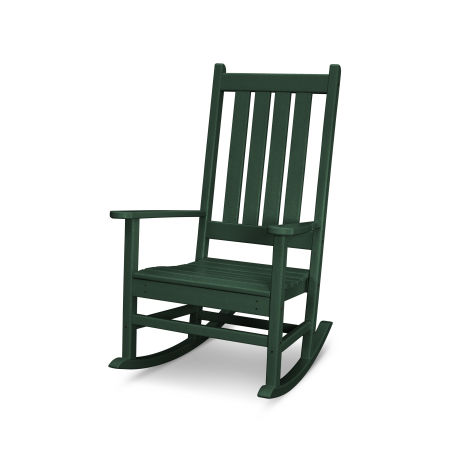 Vineyard Porch Rocking Chair in Green