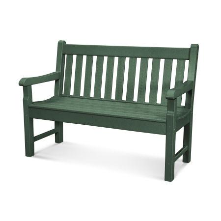 """Rockford 48"""" Bench in Green"""