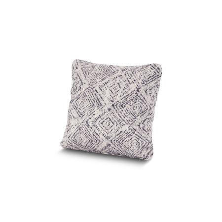 "16"" Outdoor Throw Pillow by POLYWOOD® in Leona Indigo"