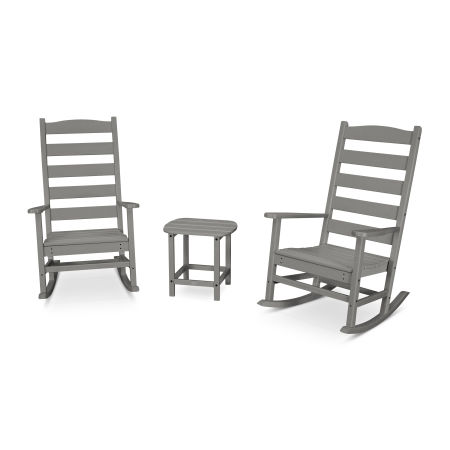 Shaker 3-Piece Porch Rocking Chair Set