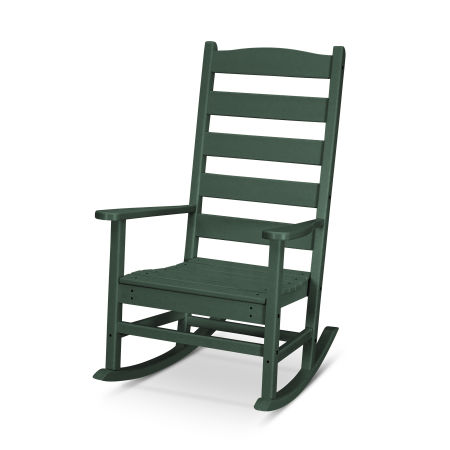Shaker Porch Rocking Chair in Green
