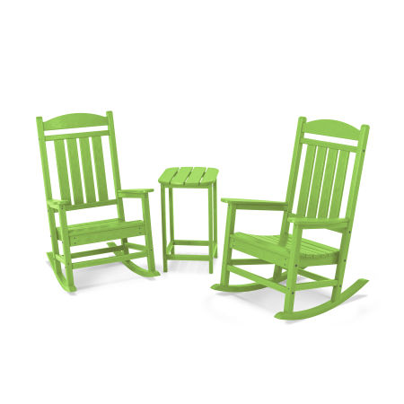 Presidential Rocker 3-Piece Set in Lime