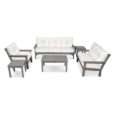 Vineyard 6-Piece Deep Seating Set