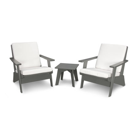 Riviera Modern Lounge 3-Piece Set