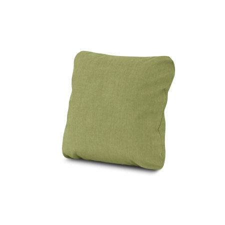 "18"" Outdoor Throw Pillow in Cast Moss"