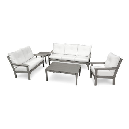 Vineyard 5 Piece Deep Seating Set