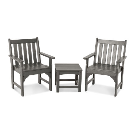 Vineyard 3-Piece Garden Chair Set