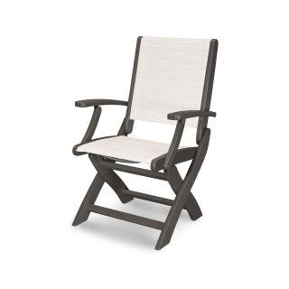 Coastal Folding Chair in Vintage Finish