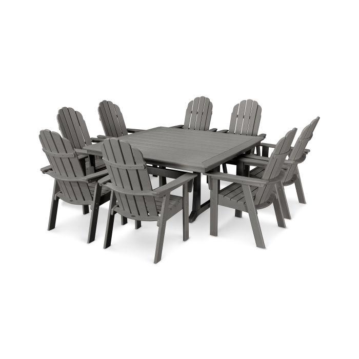 Brilliant Polywood Vineyard Adirondack 9 Piece Nautical Trestle Cjindustries Chair Design For Home Cjindustriesco