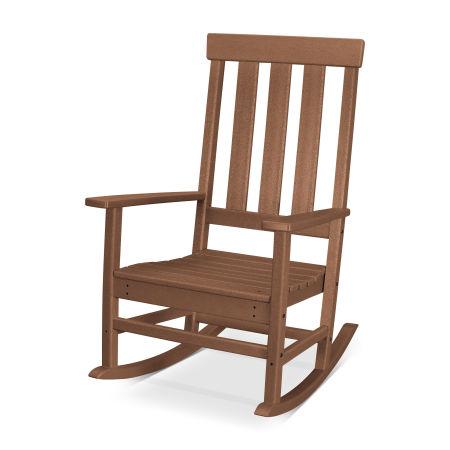 Prescott Porch Rocking Chair in Teak