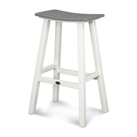 "Contempo 30"" Saddle Bar Stool"