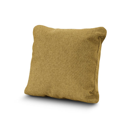 """20"""" Outdoor Throw Pillow by POLYWOOD® in Blend Honey"""