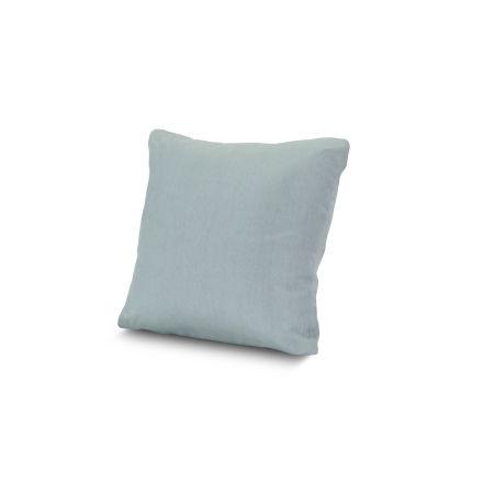 "16"" Outdoor Throw Pillow in Spa"