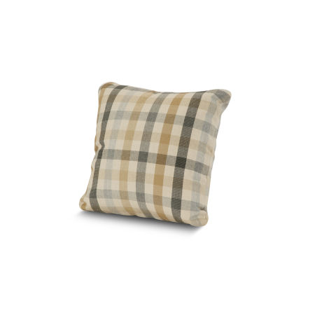 "16"" Outdoor Throw Pillow by POLYWOOD® in Connect Dune"
