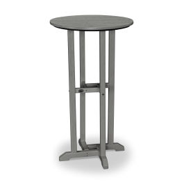 24 Quot Round Bar Table Polywood 174 Official Store