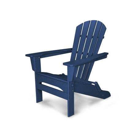Palm Coast Folding Adirondack in Navy