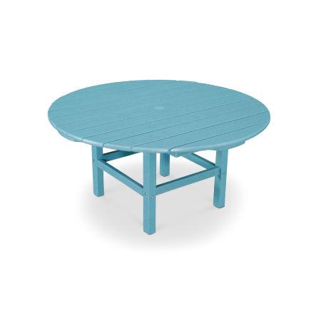 "Round 38"" Conversation Table in Vintage Aruba"