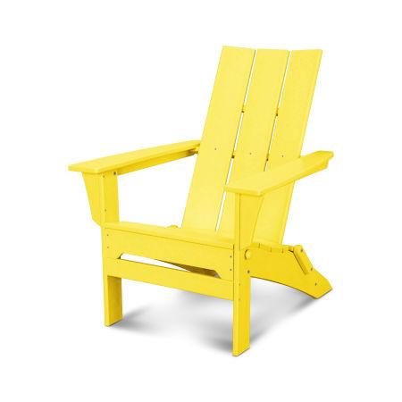Modern Folding Adirondack in Lemon