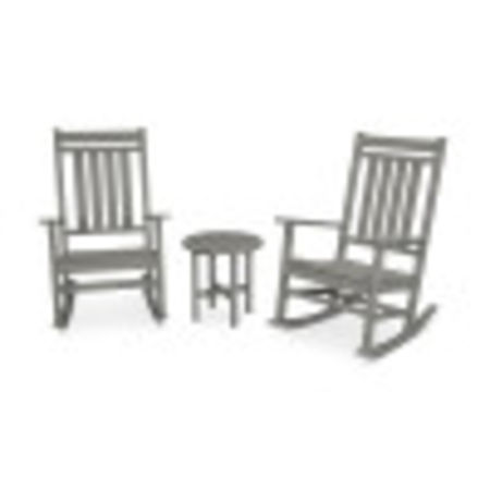 Plantation 3-Piece Porch Rocking Chair Set