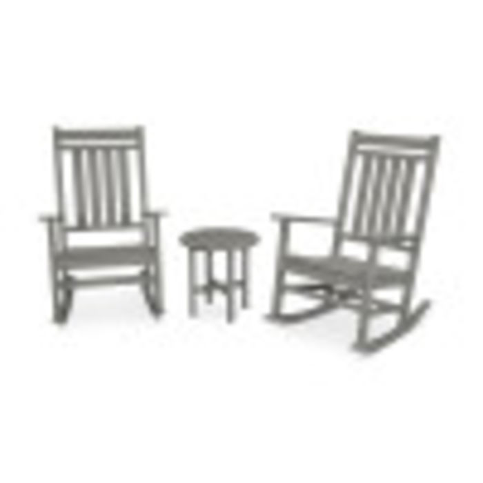 Miraculous Polywood Plantation 3 Piece Porch Rocking Chair Set Ibusinesslaw Wood Chair Design Ideas Ibusinesslaworg
