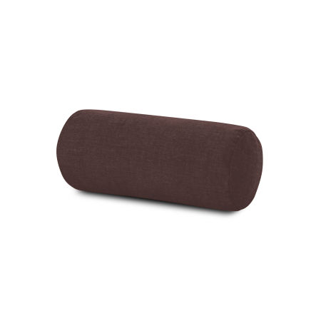 Outdoor Bolster Pillow in Cast Currant