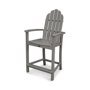 Classic Adirondack Counter Chair