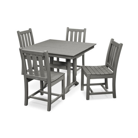 Traditional Garden 5-Piece Farmhouse Dining Set
